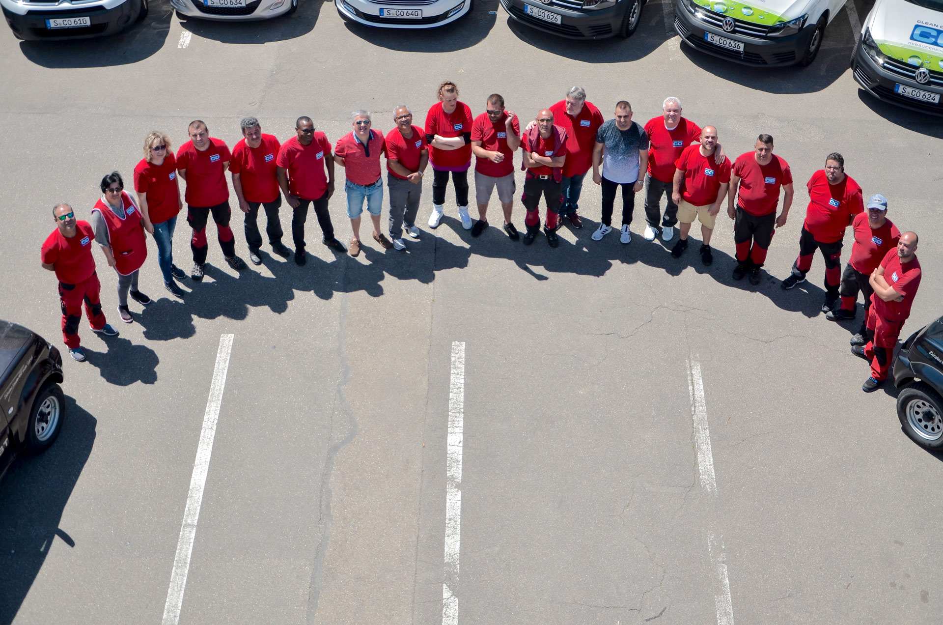Das Team von Clean Optimal - dem Profi für Gebäudereinigung in Stuttgart